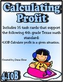 Calculating Profit (TEKS 4.10B)