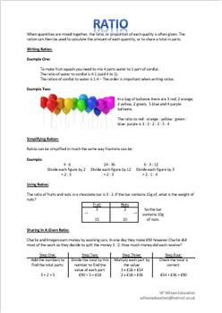 Calculating Ratio