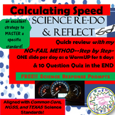 Calculating SPEED- NO FAIL METHOD-10 days to MASTERY! + GREAT FREEBIES!