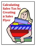 Calculating Sales Tax by Creating a Flyer