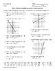 Calculating Slope Joke Sheet
