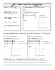Calculating Slope Notes & Practice (From a table, a graph, a word problem)