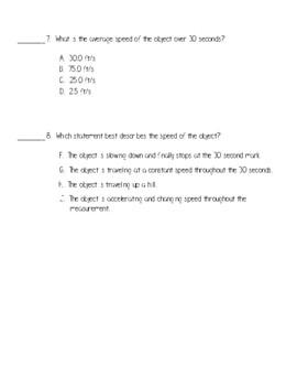 Calculating Speed 2