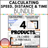Calculating Speed, Distance & Time Bundle Distance Learnin