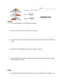 Calculating Speed Practice I