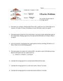 Calculating Speed Practice II