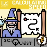 Calculating Speed SciQuest Science Scavenger Hunt- Print a