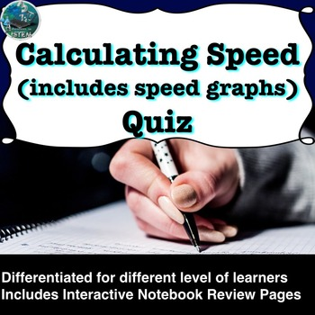 Calculating Speed (includes motion graphs) Quiz