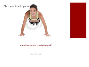 Calculating Target Heart Rate PowerPoint