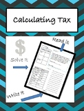 Calculating Tax in Steps.