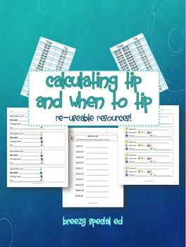 Calculating Tip and When to Tip (Tip Charts and Resources)