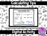 Calculating Tips with Percentages in Google™ Classroom | D