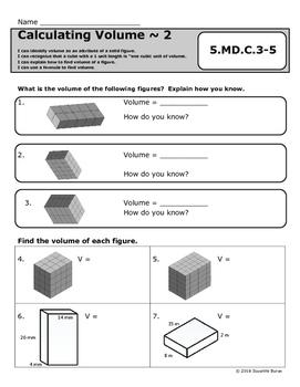 Calculating Volume