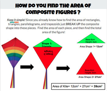 Calculating the Area of Composite Figures
