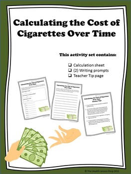 Calculating the Cost of Cigarettes Over Time