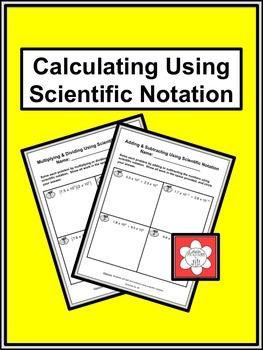 Calculating Using Scientific Notation