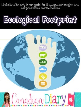Geography Grade 7, 8, 9, 10: Ecological Footprint Unit