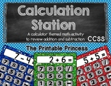 Calculation Station: Addition & Subtraction {Kindergarten & 1st} CCSS
