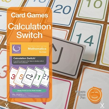 Calculation Switch! | card game of positive integer additi