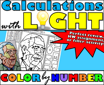 Calculations with Light - Energy, Wavelength, and Frequenc