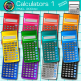 Calculator Clip Art {Measurement Tools for Math, Algebra, & Science Resources} 1