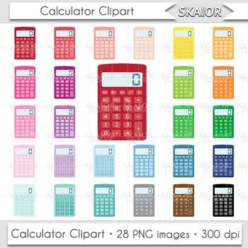 Calculator Clipart Calculator Clip Art Rainbow Math Colorf