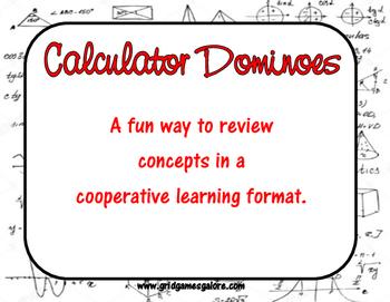 Calculator Dominoes