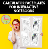 Calculator Faceplates for Interactive Notebooks
