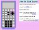 Calculator Guide: TI-89 {Calculus}