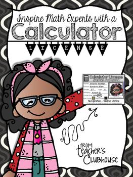 Calculator License