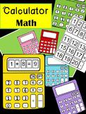Calculator Math - Addition/Subtraction (Primary)