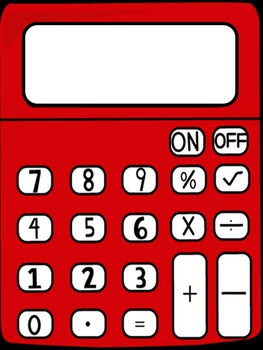 Calculator Math - Addition/Subtraction (Primary)