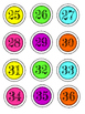 Calculator Number Pack - Black & White OR Colorful