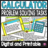 Using a Calculator Logic Tasks
