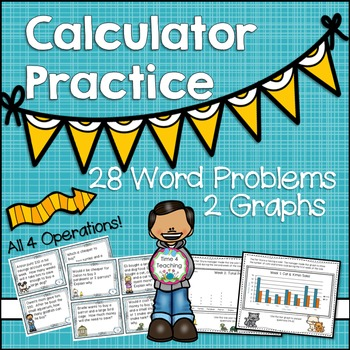 Calculator Practice Teaching Resources | Teachers Pay Teachers