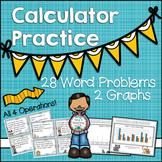 Calculator Practice Word Problems