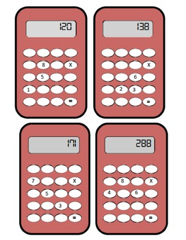 Calculator Puzzles - Multiplication and Division
