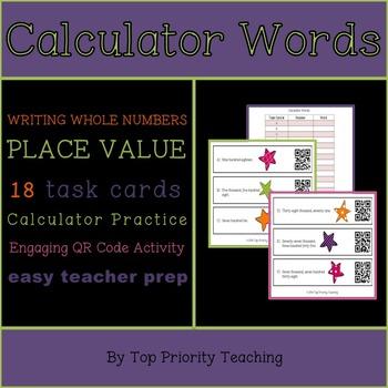 Calculator QR Activity