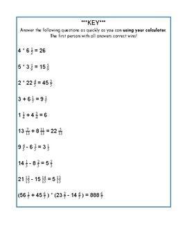 Calculator Race Practice