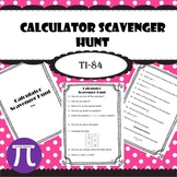 Calculator Scavenger Hunt (TI-84)