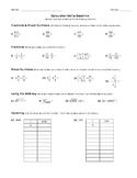 Calculator Skills Baseline Quiz