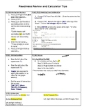 TI-84 Calculator Tips and STAAR Strategies