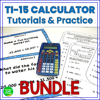Calculator Tutorials and Practice BUNDLE