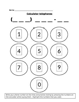 Calculator telephones