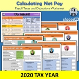 Calculatte Net Income | Paychecks, Payroll Taxes & Deducti