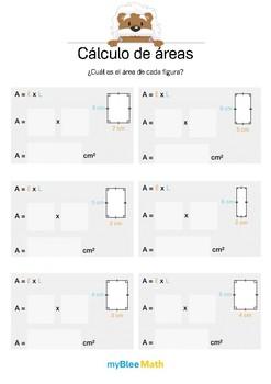 Cálculo de áreas 2 - ¿Cuál es la área? (rectángulo)