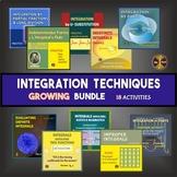 AP Calculus BC : TECHNIQUES OF INTEGRATION - GROWING BUNDLE 18 Activities now