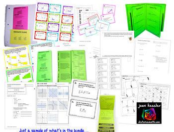 Calculus 1 Curriculum Bundle