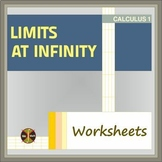 Calculus Limits : LIMITS AT INFINITY 2 Worksheets ( 16 problems)