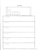 Calculus 1 Set #1 Pg 3-4  Derivatives